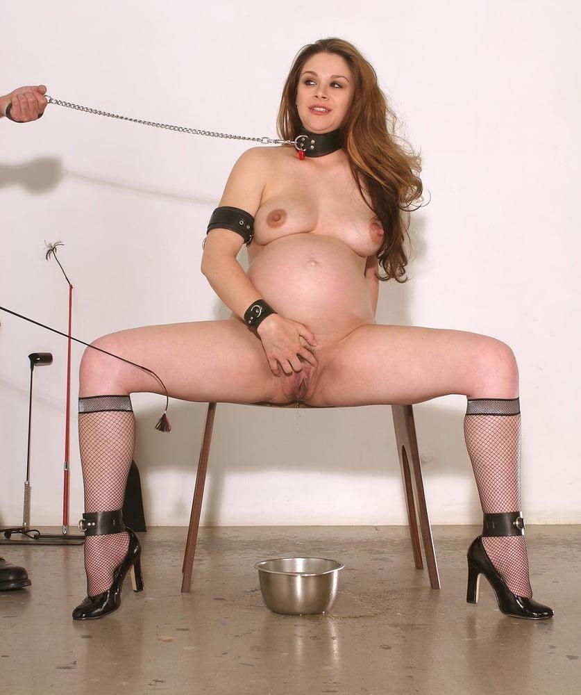 Pregnant bondage fetish — pic 6