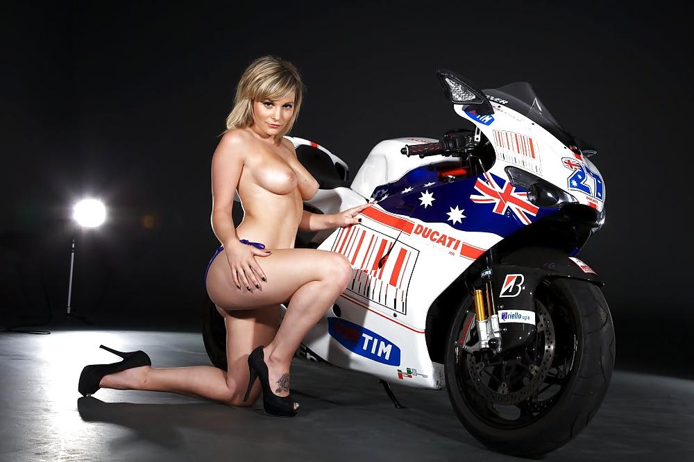 Bike with girl-5842