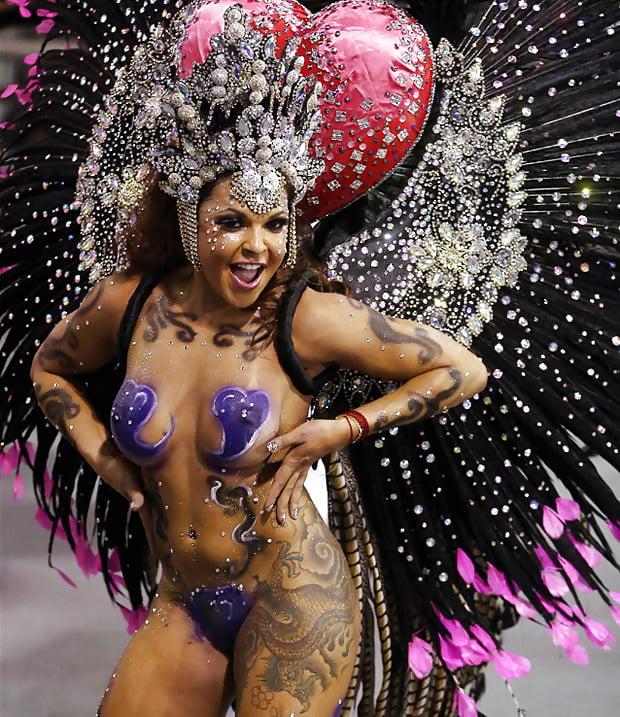 The Carnival In Rio De Janeiro Is Unbelievable Sexy