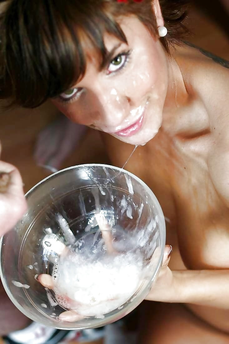 Basement container cum cup fantasy glass wife