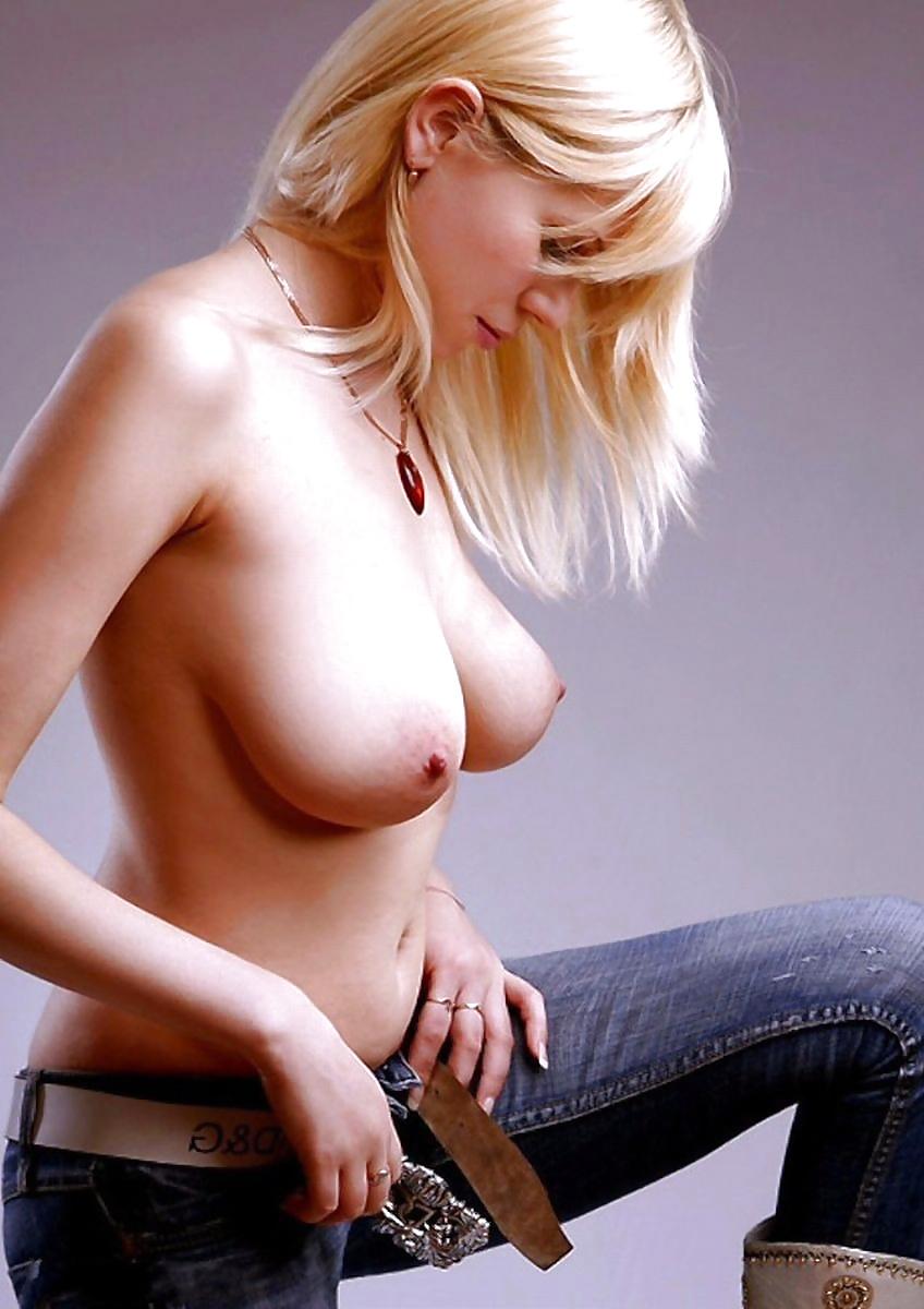 Blonde Schambehaarung