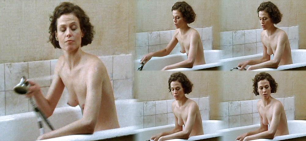 Weaver naked sigourney Sigourney Weaver
