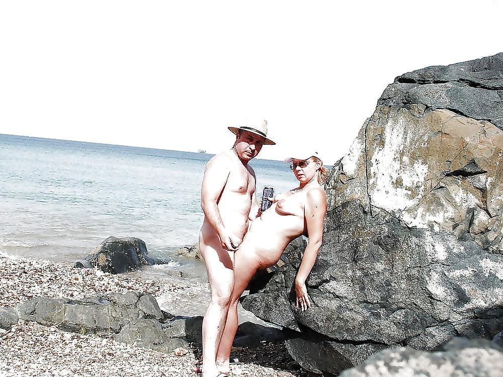 Porn on public beach-6004