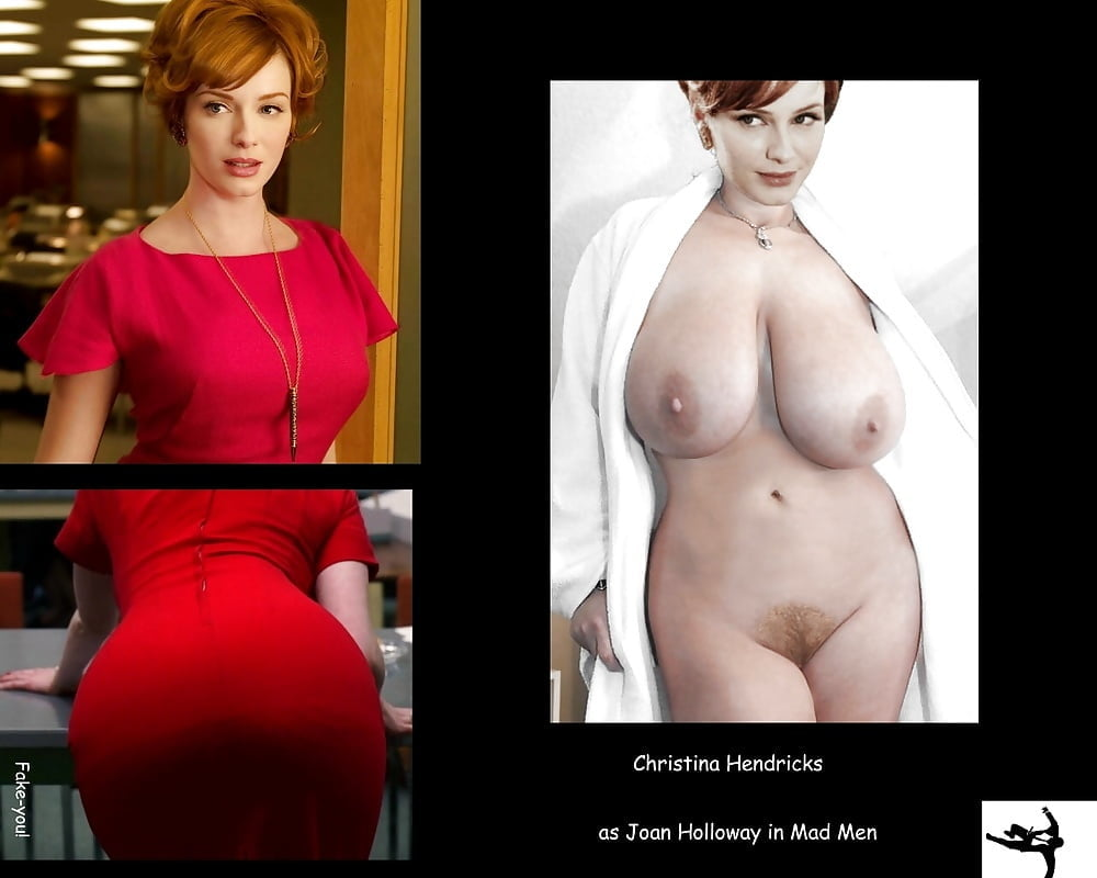 Christina Hendricks Nude Giant Boobs Leaked Photo