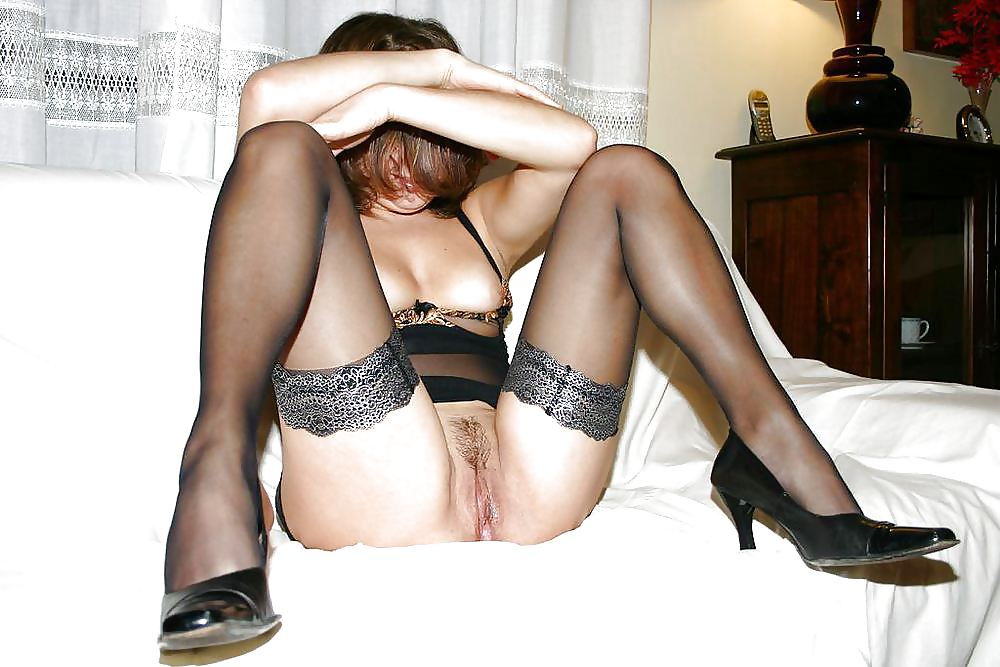 порно фото жен в чулочках нее появилась