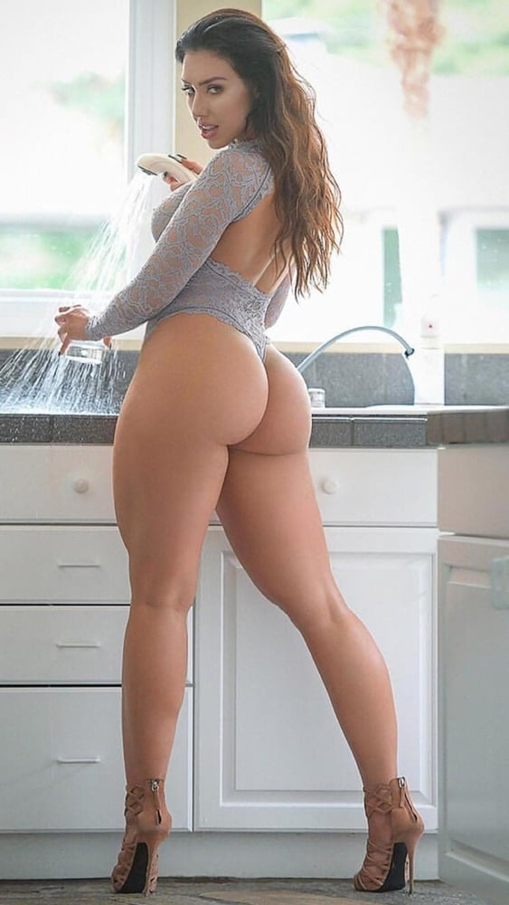 Cute and curvy nude ass