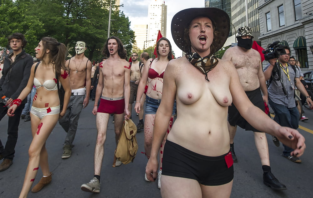 Naked protest and the revolutionary body