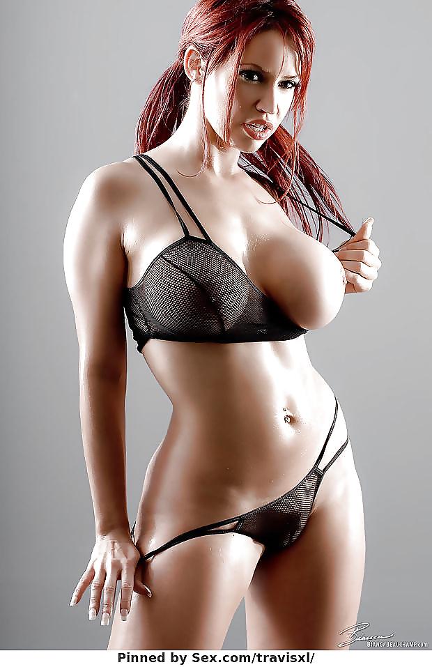 Women Lingerie Bikinis Swimwear Beautiful Curvy Tattoo Nude Gals 1