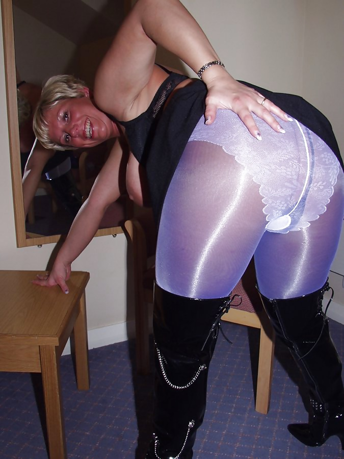 Mature women in shiny panty pictures