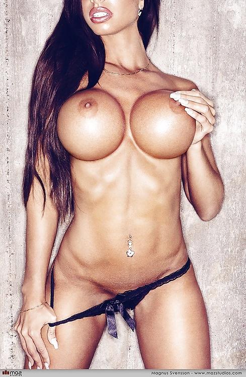 Busty fake boobs asian girls