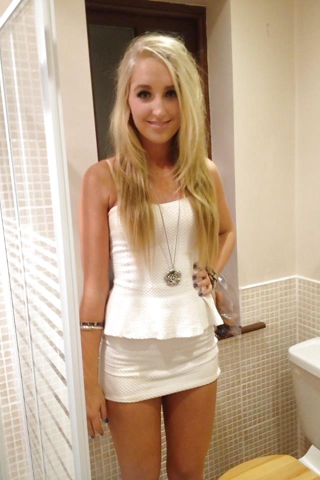 Jailbait white skirt — img 1