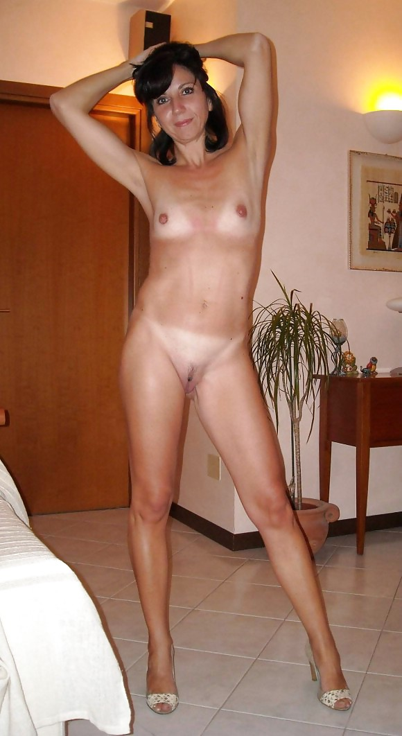 Red hair naked