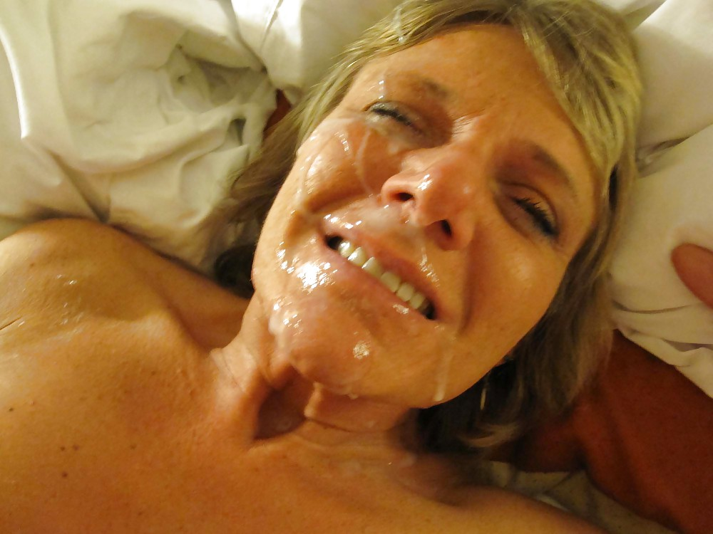 Homemade facials on mature moms 4