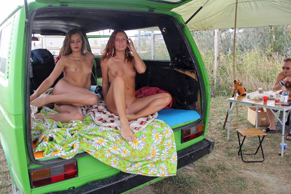Campers with naked girls most gorgeous pussy