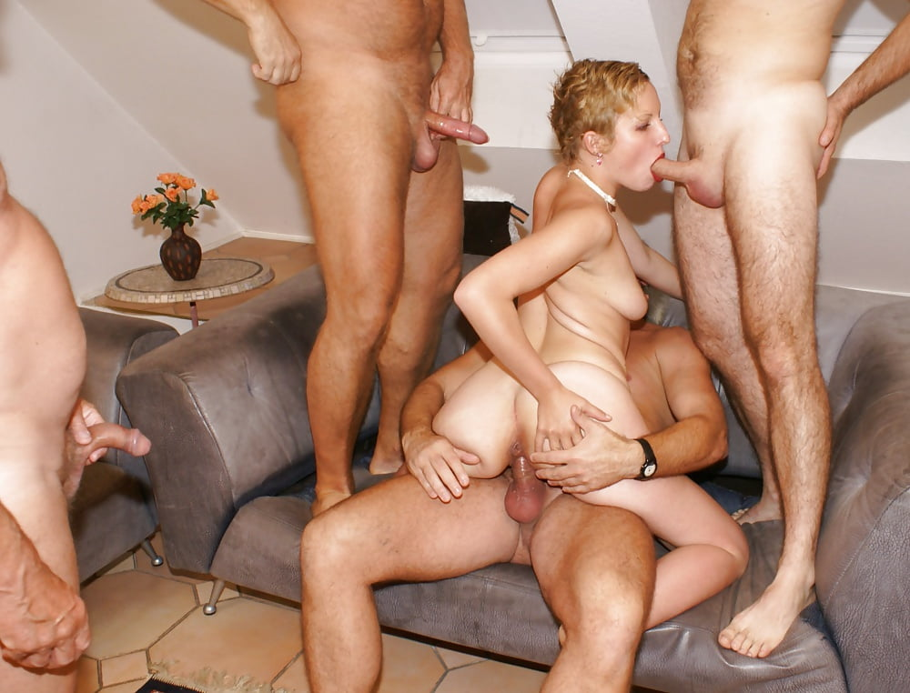 Watch Old Young Gangbang