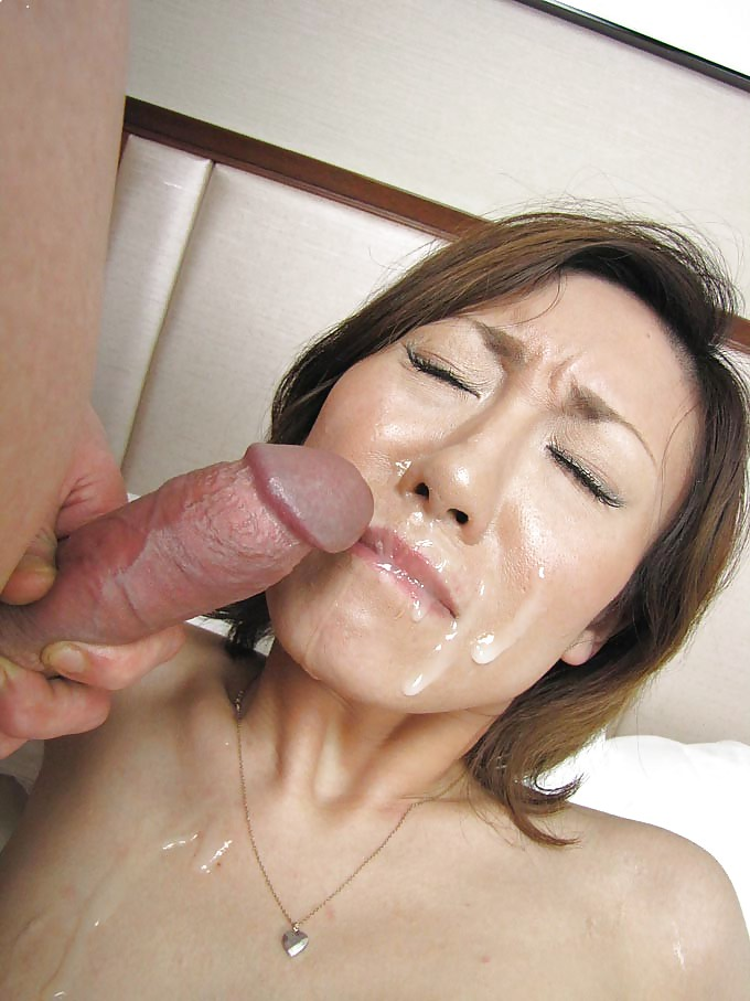 japanese-mature-cum