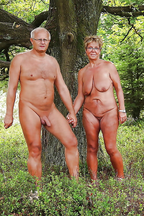 Mature naturist couples