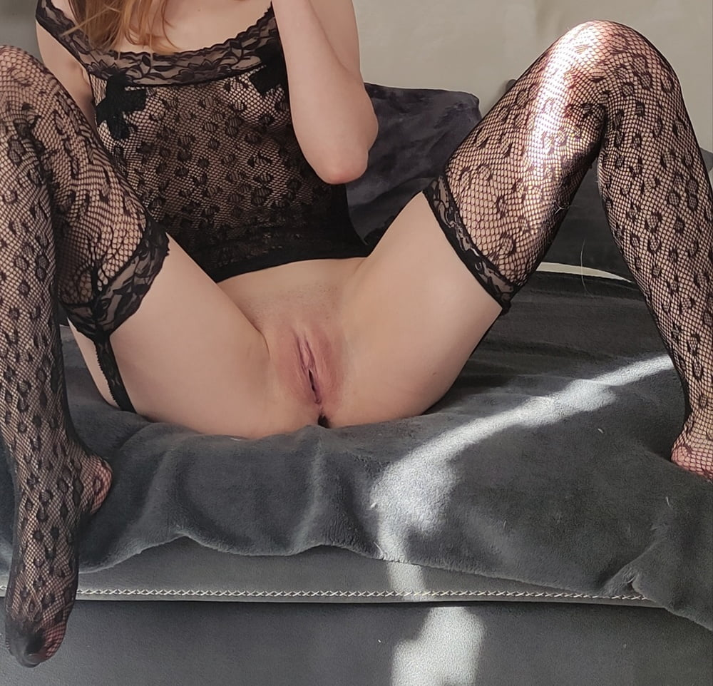Black Stockings Babe- 7 Pics