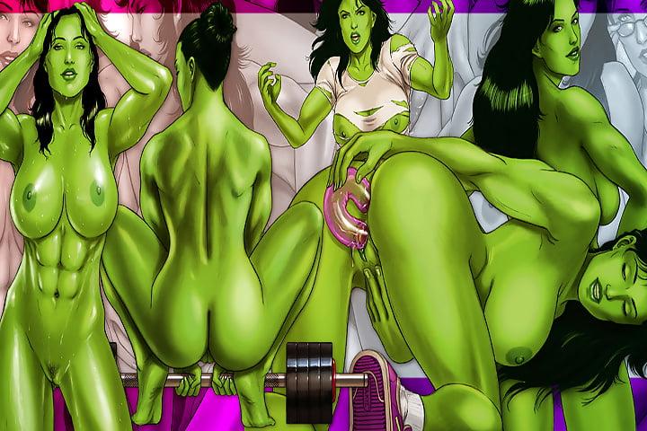 She hulk wonder woman sex