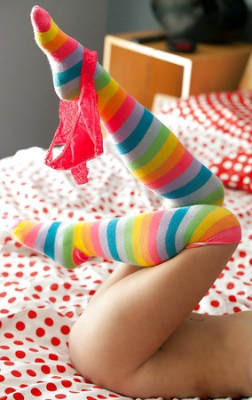 teenys in socks