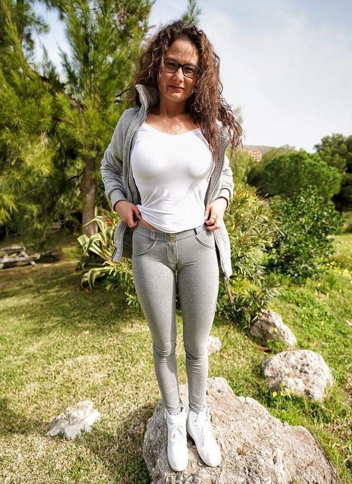 Muschi natur Rothaarige Frau