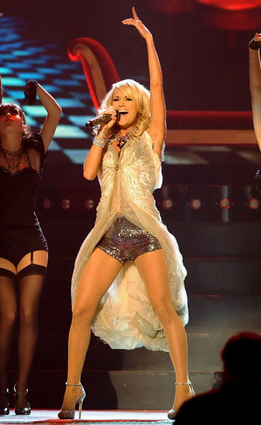 Carrie Underwood Stage Dresses and Skirts - 125 Pics