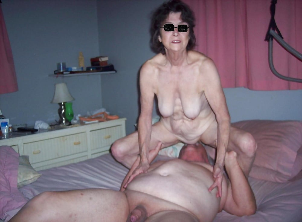Amateurs granny homemade