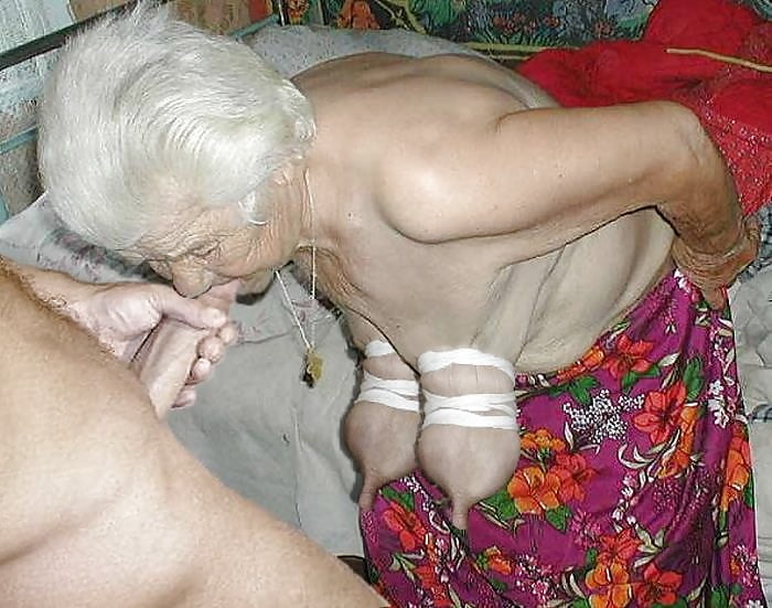 Wrinkle Granny Still Wants To Fuck With Youngsters