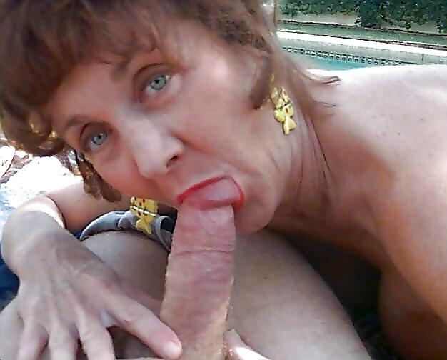 Old granny oral sex
