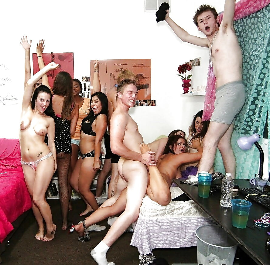 Nude Party College Dorm Rooms