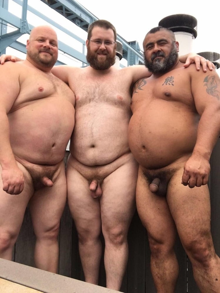 Fat chubby gay men naked