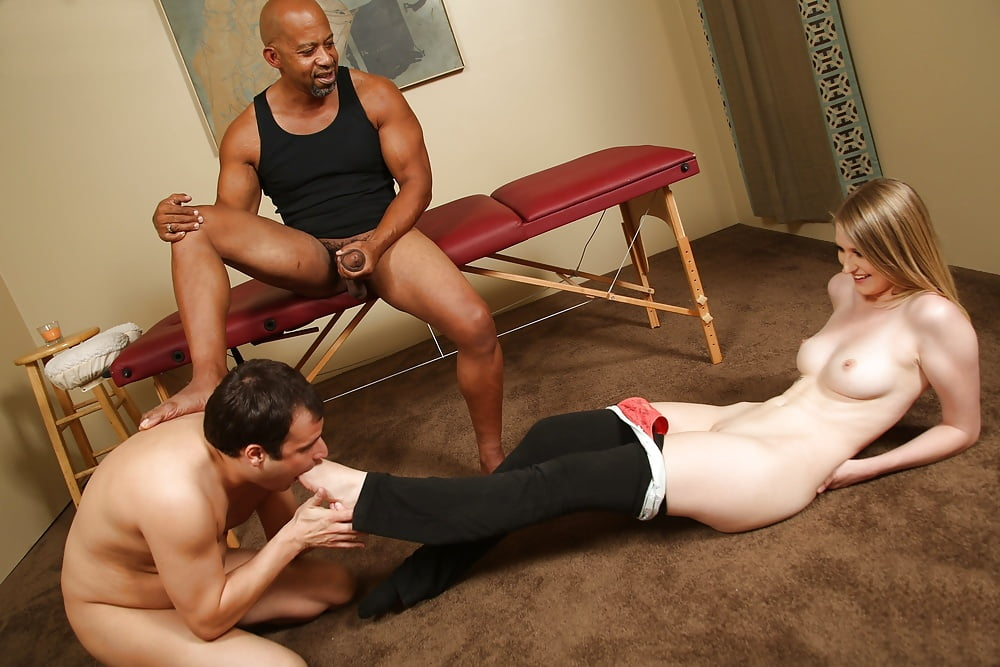 Interracial submissive photo white wife is slave for black