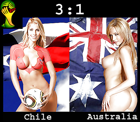 World cup nude babes