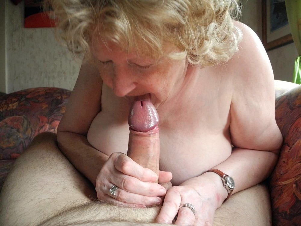 Granny sucking cock pic galleries