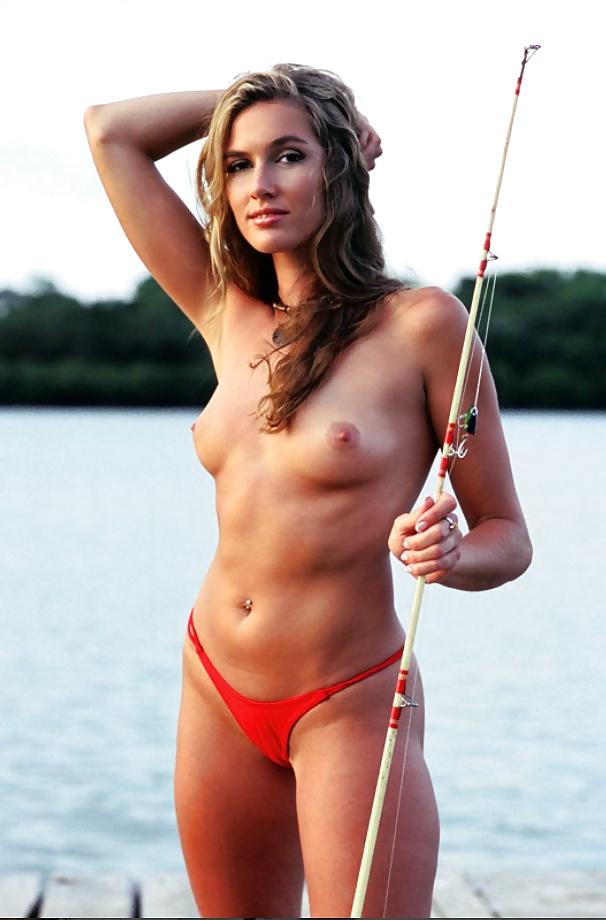Women that fish nude #2