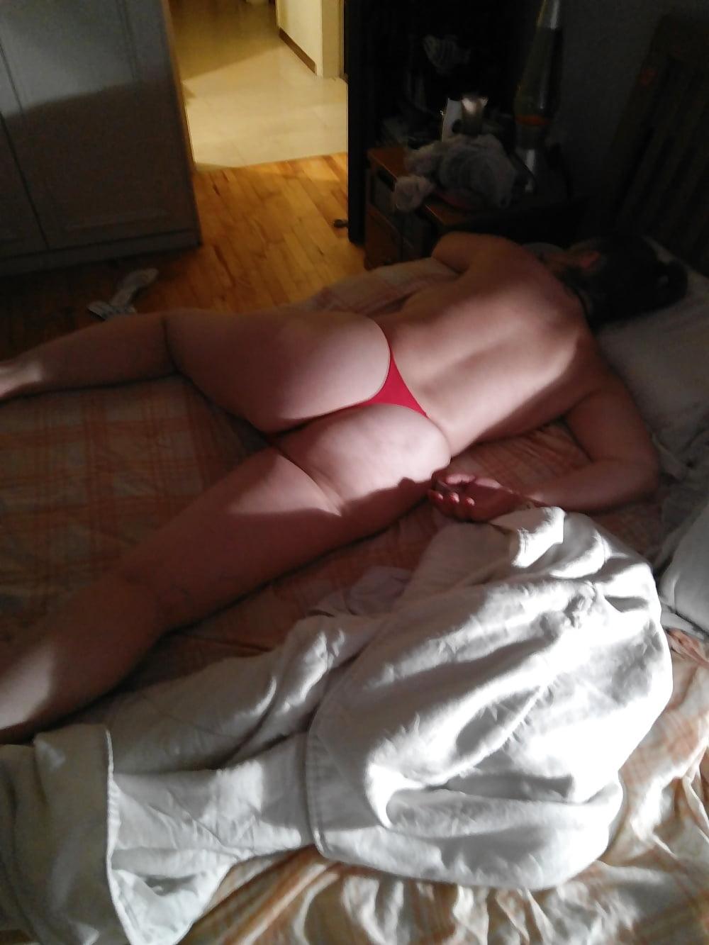 Accidental big boob slip