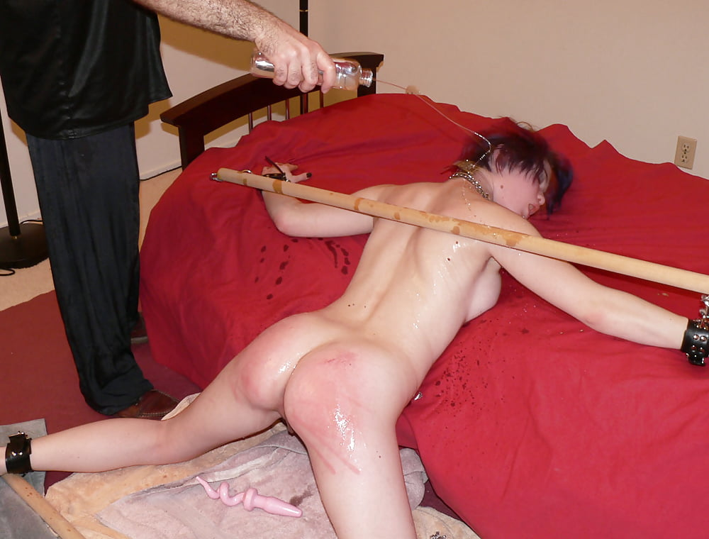 Bdsm whipping torture