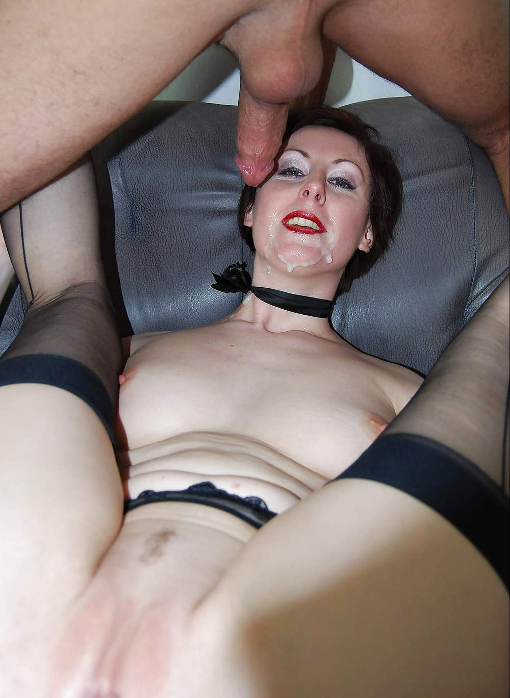 Ultra Sexy Goth Girl Gets Drilled