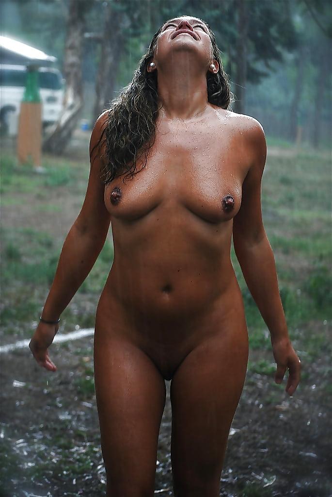 The weatherman nude