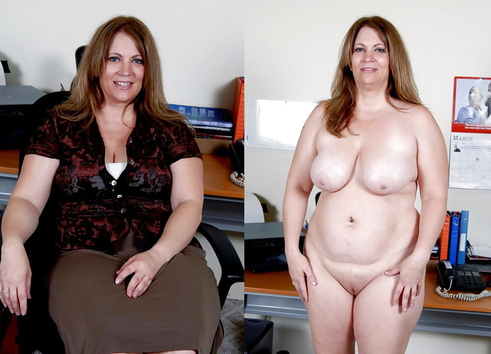 Mature Bbw Undress