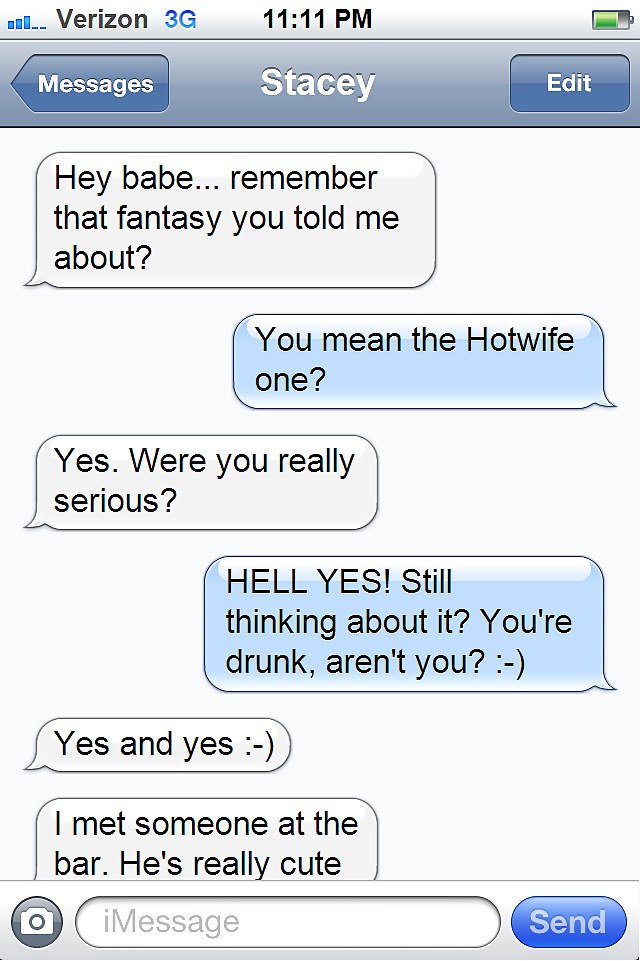hotwife texts