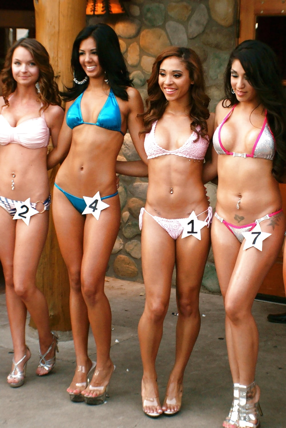 Asian bikini contests joan collins