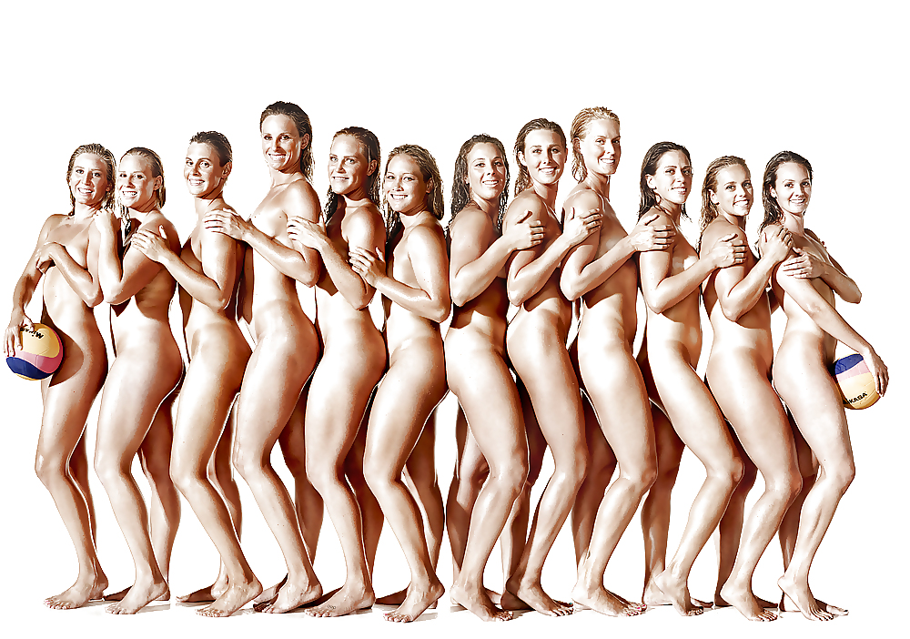 Female olympic athlete naked — pic 14