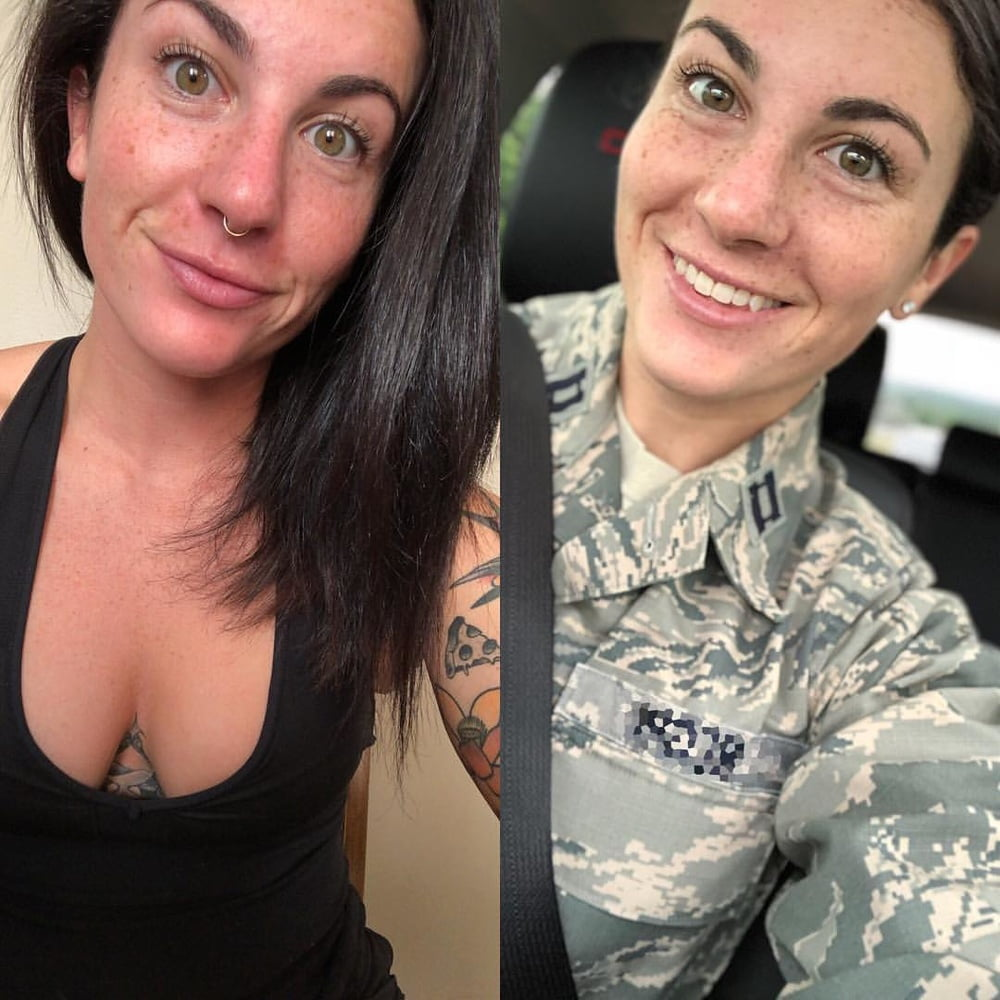 Hardcore air force whore