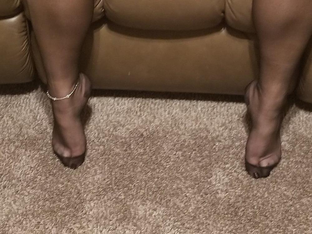 Ebony Stocking Feet