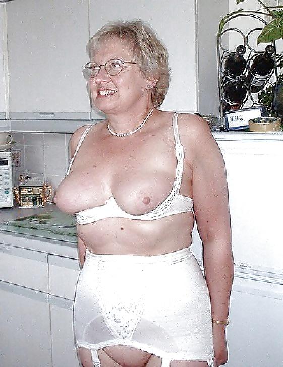 Older women in girdles