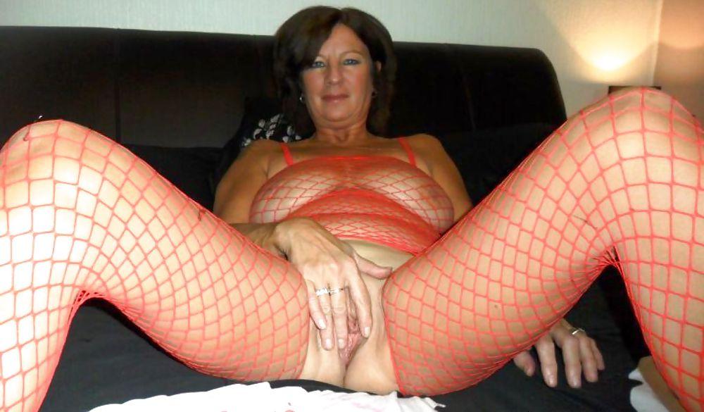 Horny slut in sexy lingerie