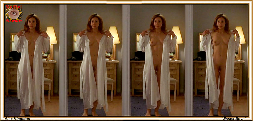 Hot Scene Alex Kingston, Holly Davidson Nude