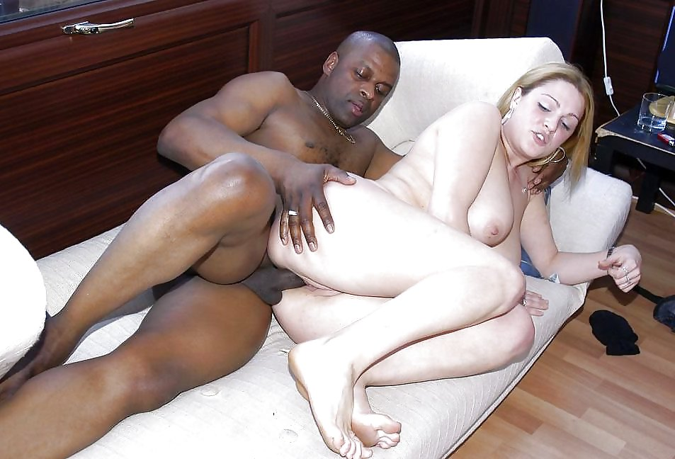 Black BBW crystal clear shows off her big ebony ass before she rides a huge dick