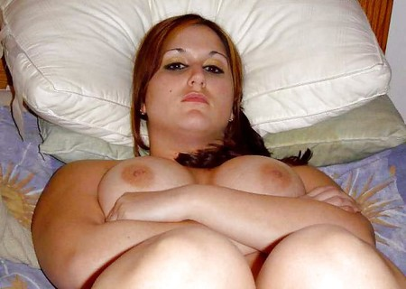 Ex Girlfriend Laying Naked Across the Bed